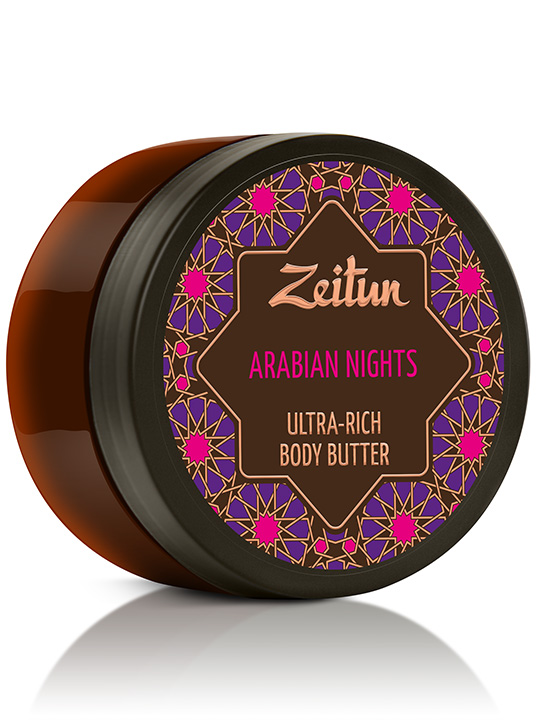 "Ultra-rich body butter ""Arabian nights"" — sensual aphrodisiac"