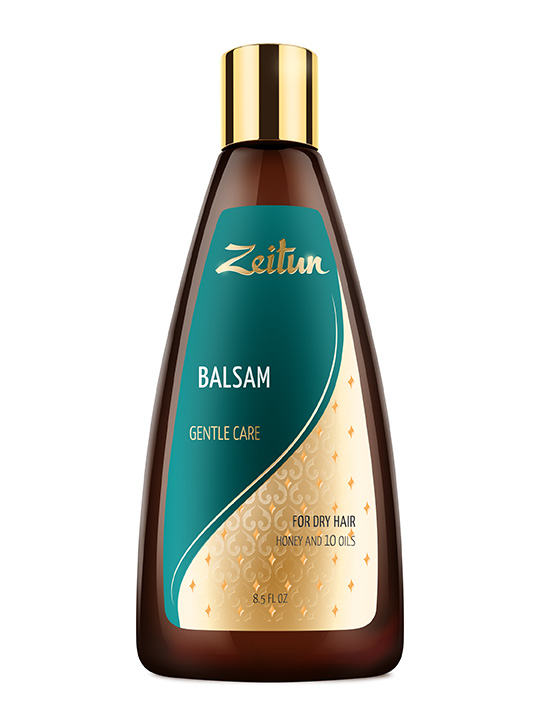 "Balsam ""Gentle care"" for dry hair with Honey and Almond"