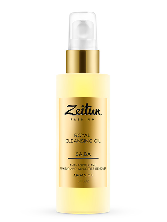 SAIDA Royal Cleansing Oil for mature skin with Argan oil