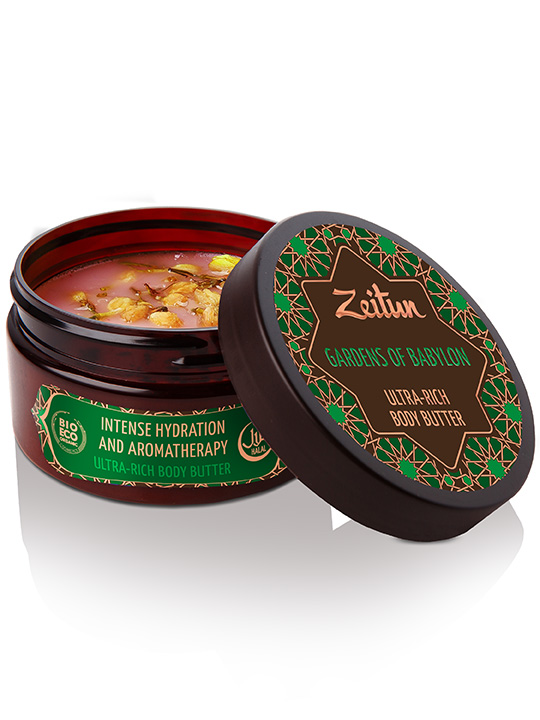 "Ultra-rich body butter ""Gardens of Babylon"" — intense hydration and aromatherapy"