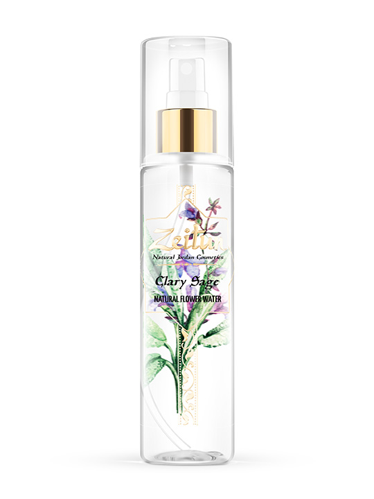 Clary sage flower natural water