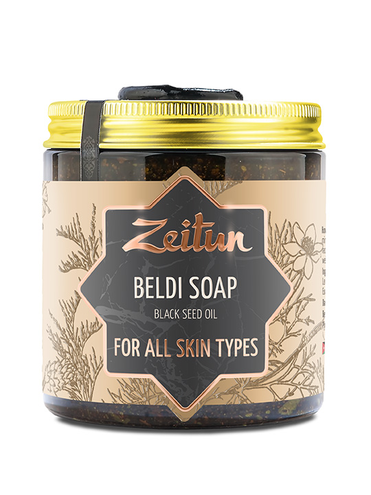 "Beldi soap ""Black seed oil"" — for all skin types"