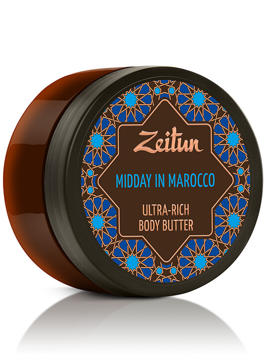 "Ultra-rich body butter ""Midday in Morocco"" — skin firming and aromatherapy"