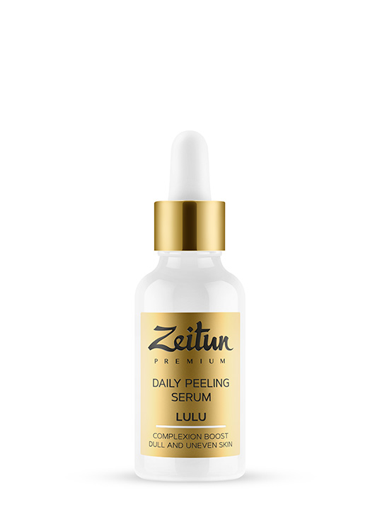 "LULU daily peeling Serum ""Complexion boost"" with natural AHA"