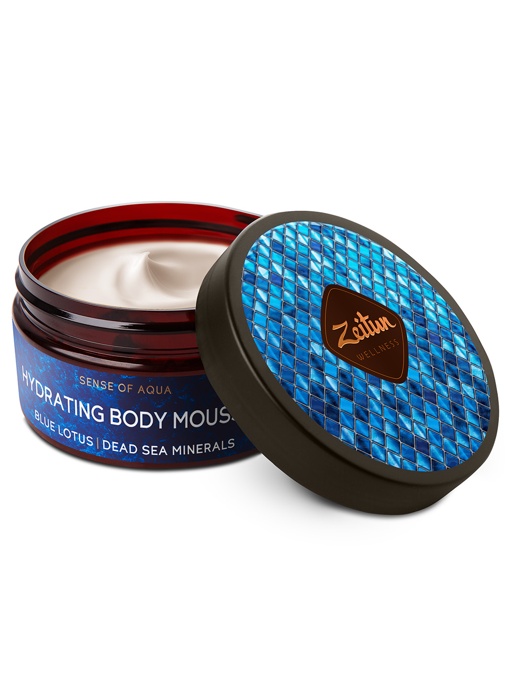 Sense of Aqua Hydrating Body Mousse with Blue Lotus and Dead Sea minerals