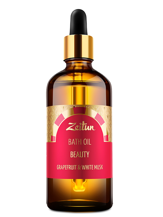 "Bath oil ""Beauty"" – grapefruit and white musk"