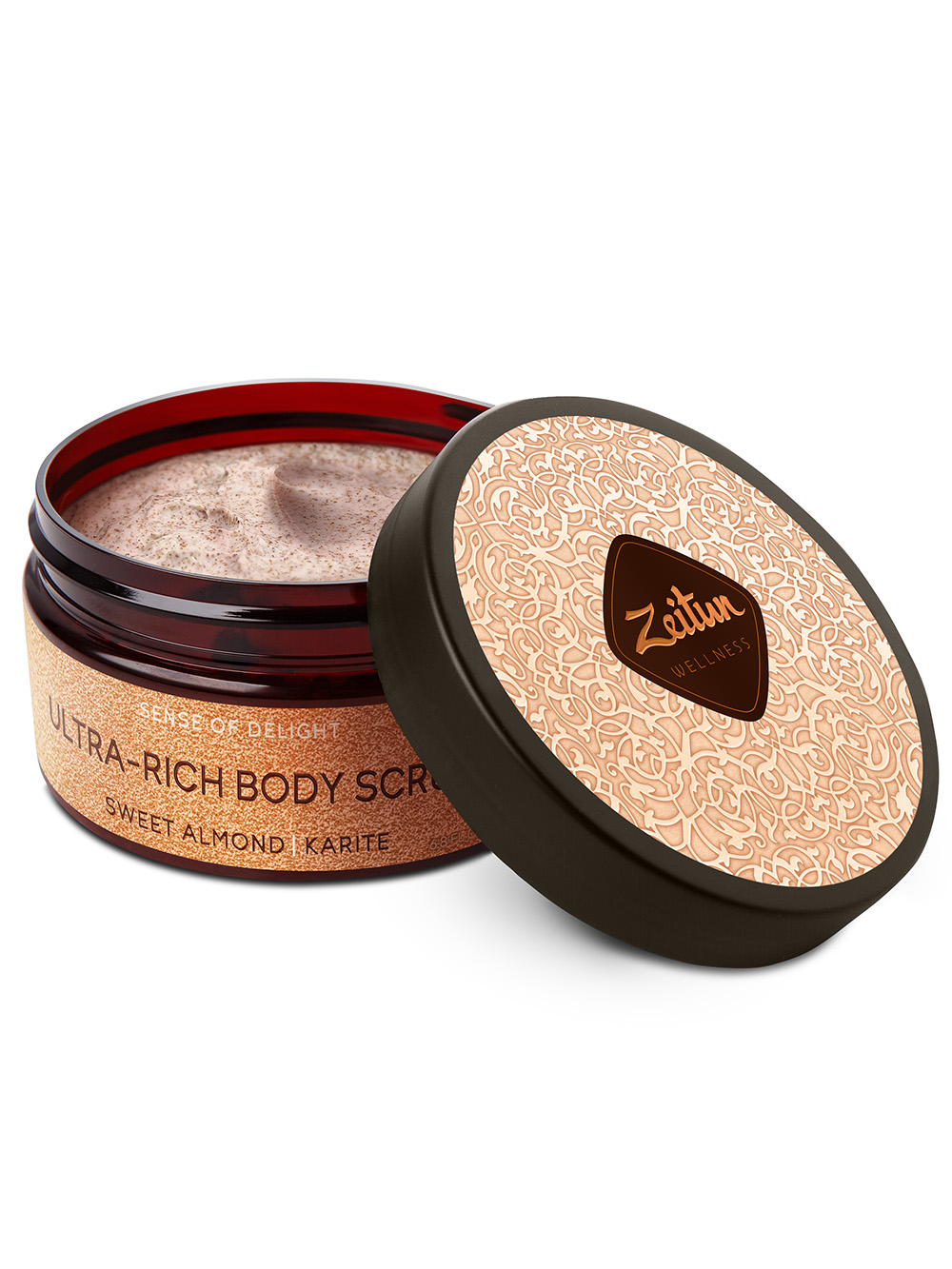 Sense of Delight Ultra-Rich Body Scrub with Sweet Almond and Karite
