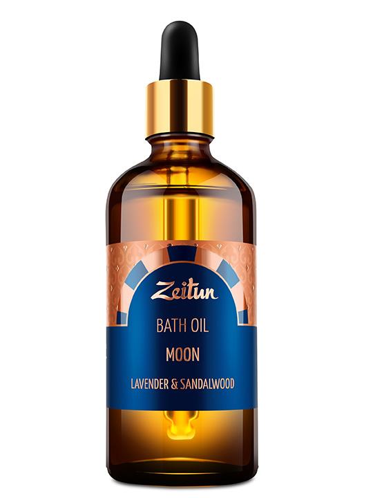 "Bath oil ""Moon"" – lavender and sandalwood"