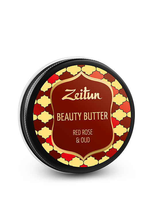 "Beauty Butter ""Red rose & oud"""
