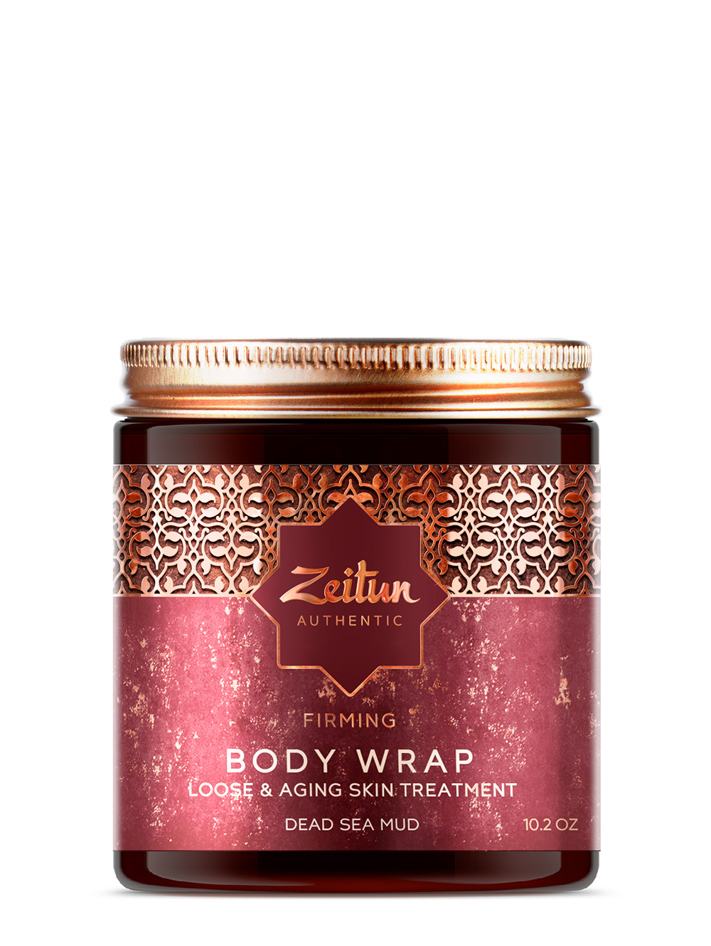 Firming Body Wrap with Dead Sea Mud for loose & aging skin